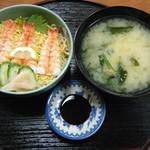 恵美福 - エビちらし寿司@750