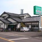 恵美福 - 有家中学校前交差点のところです