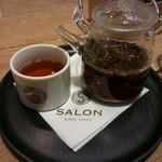 81334494 - □茶房パフェセットのほうじ茶(ホット) 1500円(外税)□