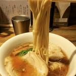 松戸中華そば 富田食堂 - 「純粋金華豚ワンタンそば(醤油)」(1050円)