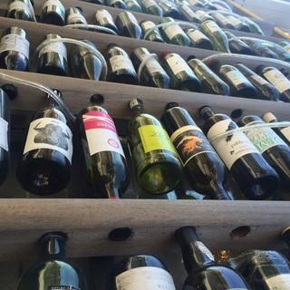 ソムリエ厳選の豊富なワインリストと共に…◎