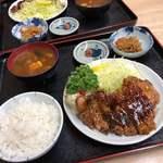 きくよし - 料理写真:豚テキ定食 1,000円