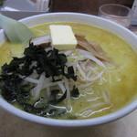 81338005 - 味噌カレー牛乳ラーメン(バター入り) 830円 (2018.1)