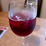 市川ワイン食堂Dish cussu - 2017.07.18 「キティ」赤ワイン+ジンジャーエールの  ワインカクテル