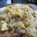 松葉 - 炒飯のアップ