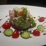 美食三昧 - マグロとアボガドのセルクル