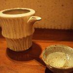 蕎麦 流石 - 日本酒 神亀