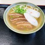 田空の駅 はーそー - 料理写真:三枚肉そば ¥650