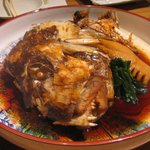 旬菜鮮たつみ - 鯛のかしら煮つけ