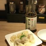 中華soba いそべ - 皿わんたん(肉とエビ)