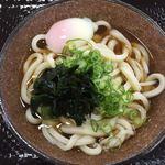 こがね製麺所 - 温玉ぶっかけうどん中  410円