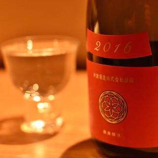 稀少な日本酒・焼酎もお愉しみいただけます。