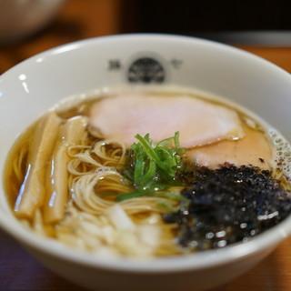 らぁ麺 とうひち - 料理写真:煮干魚介らぁ麺