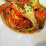 prato cafe - 週末限定パスタランチは、サラダ・季節のスープ・パスタ(数種類ご用意)。