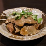 YUGEYA - 名古屋コーチン絶品塩レバー(650円)