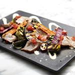 炙り鮮魚とグリル野菜 風味豊かなレフォールソース