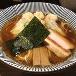 中華soba いそべ - 先週戴いた特製ワンタン麺(黒旨)
