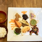 Restaurant 日水土 - お野菜ランチ¥1800