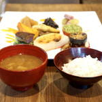 Restaurant 日水土 - 羽釜炊き自然栽培米と天然醸造味噌『蔵の郷』のお味噌汁