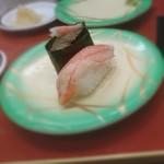 回転寿司 鮨市 - かにづくし 201802