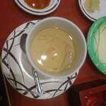 回転寿司 鮨市 - 茶碗蒸し 201802