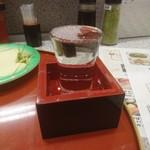 回転寿司 鮨市 - 日本酒はマストでしょう 201802