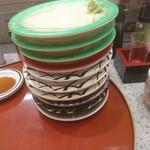 回転寿司 鮨市 - 食った食った^^;  201802