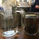 酔笑苑 - お水とコーラで乾杯