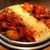 味醂亭 - 料理写真:石皿チーズタッカルビ。味醂亭風アレンジで‼