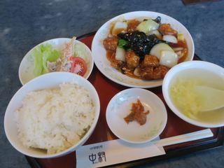 中村 - 酢豚セット(¥1.026)
