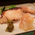 酒肴 味 - 焼魚 沖きんき粕漬け@1,000円