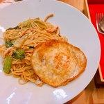 馬さんの中華パスタ店 双喜麺上海 - 上海スパゲティの平日ランチセット680円