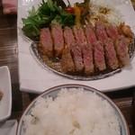 ROUTE29 - 牛カツ定食 1,200円