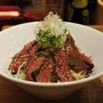 牛串酒場 バールミート - ステーキ丼