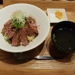 牛串酒場 バールミート - ステーキ丼980円