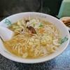 一寸法師 - 料理写真:ワンコインセット 小 (ラーメン中・オニギリ1コ・サラダ)[¥450]