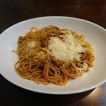 Taverna Zio Rosso ロッソおじさんの店 - 名物スパゲッティライフルの一発の五発(900円)