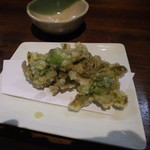 閃味処 料磨 - ふきのとうの天ぷら