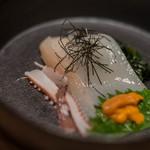 おたる政寿司 - 【魷魚絲(いかさうめん)】