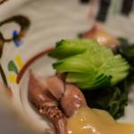 おたる政寿司 - 【小鉢(こばち)】、黄瓜(きうり)