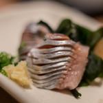 おたる政寿司 - 【差味(さしみ)】、鯡(にしん)
