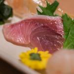 おたる政寿司 - 【差味(さしみ)】、鰤(ぶり)