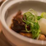 おたる政寿司 - 【煮物(にもの)】、骨邊肉煮(あらに)