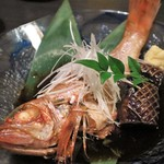 北新地・隠れ家個室居酒屋 匠 - 本日の鮮魚の煮付け 2,590円(税別)