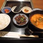 焼肉家 KAZU 神楽坂 - ランチの韓定食