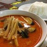 タイ料理ぺっぽい - 豚のレッドカレー