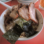 味の大西 - ワンタン麺 900円