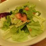 ローストチキンハウス - ローストチキングリルのサラダ