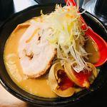 麺処 花田 - 味噌ラーメン 830円 + 味玉 120円