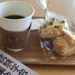 カフェ モーツァルト メトロ - モーツァルト ブレンドとスコーン スコーンが美味しい